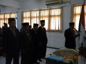 Pelantikan Pembantu Rektor Uniska 2011 (6)