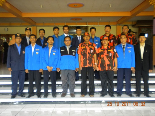 Bayu ketum GPIM di Upacara Sumpah Pemuda 2011
