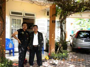 Bayu & DR.H.Suko Susilo,M.Si. Di Rumah Jl. Welirang
