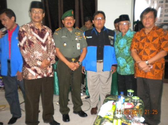 Bayu Pramutoko Ketum GPIM di Halal Bil Halal KNPI 2011