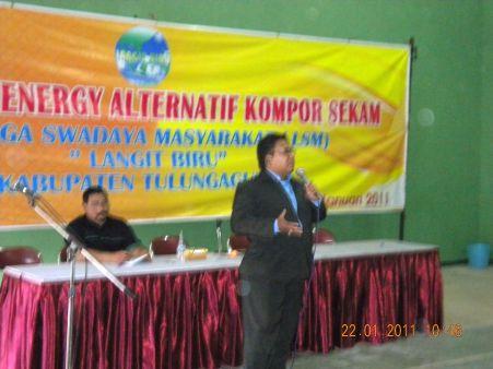 Bayu Pramutoko,SE.MM sbg Pembicara Workshop LSM Langit Biru Tulungagung
