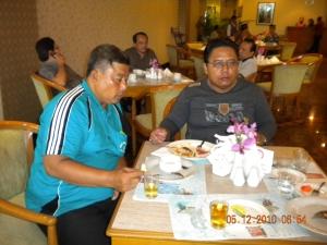 Breakfast di hotel Pangrangngo 2 Bogor