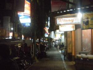 Suasana Malam di Jalan Doho Kota kediri