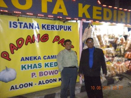 Kuliner alun-alun Kota Kediri