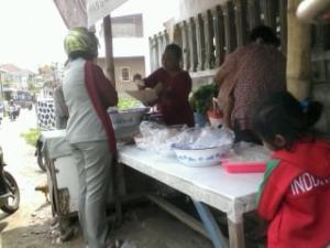 Nasi Pecel Punten Jalan Tembus Kaliombo - Kota Kediri