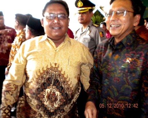 Bayu & Wapres Budiono di Muktamar ICMI V di Bogor