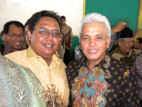 Bayu & Hatta Rajasa di Muktamar ICMI V di Bogor