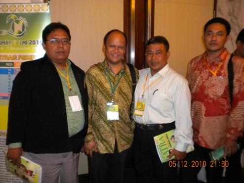 Bayu & Ilham Habibie di Muktamar ICMI V di Bogor