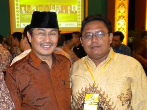 Bayu & Jimly Asidky di Muktamar ICMI V di Bogor