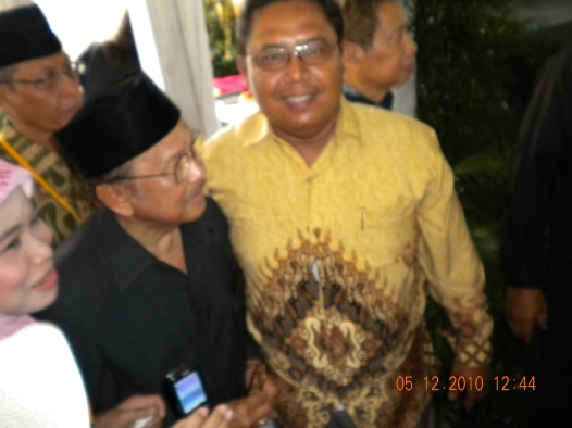 Bayu & B.J. Habibie di Muktamar ICMI V di Bogor