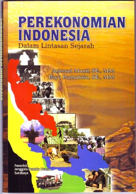 Cover buku Perekonomian Indonesia